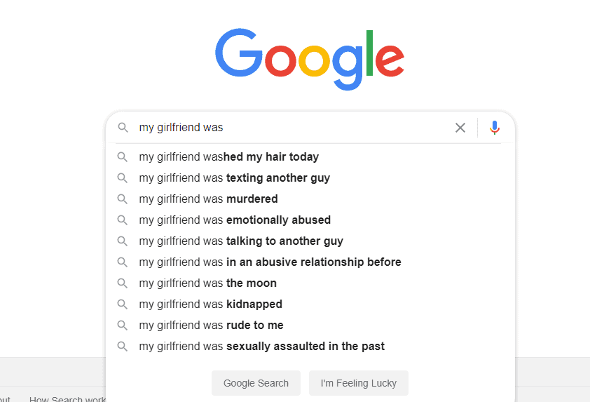 Suggested Search Google