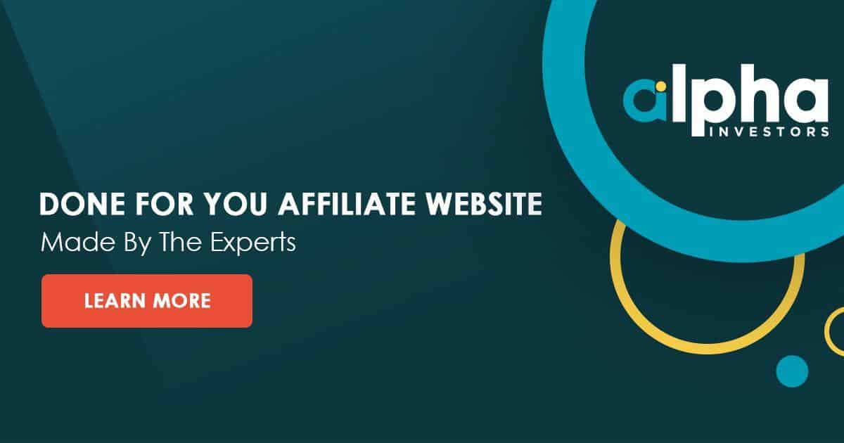 Done-For-You Affiliate Site