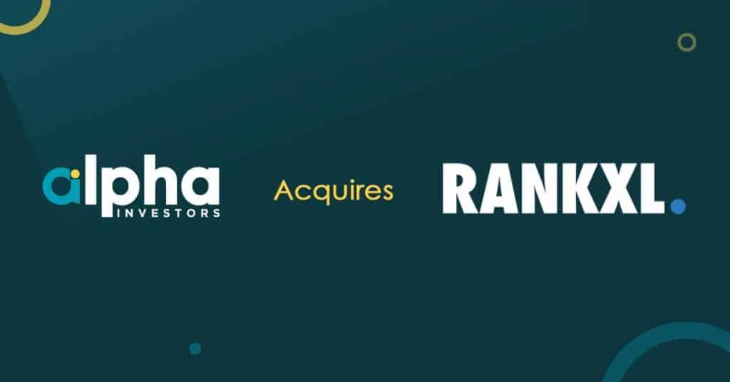 Alpha Investors Acquire RankXL