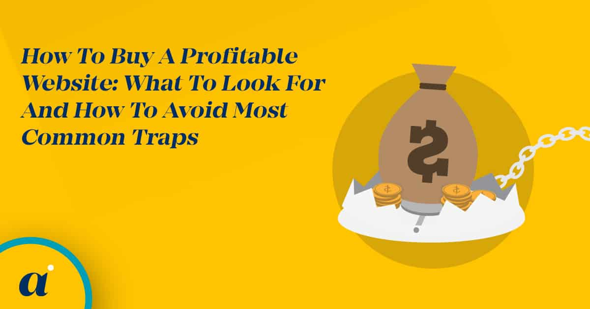 How To Buy A Profitable Website What To Look For And How To Avoid Most Common Traps