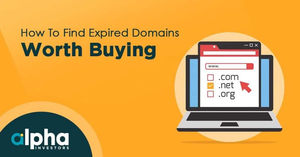 how to find expired domains