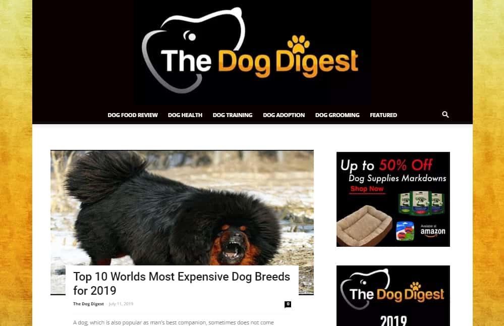 Dog Digest Sold for 75000$