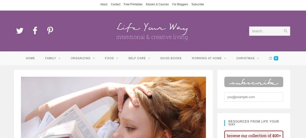 Life Your Way Website