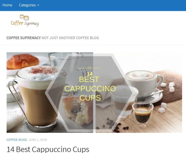 CoffeeSupremacy Website