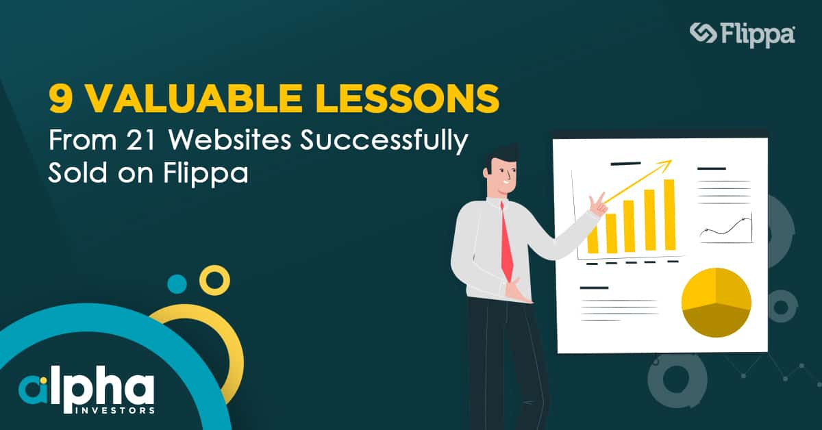lessons from selling websites on flippa