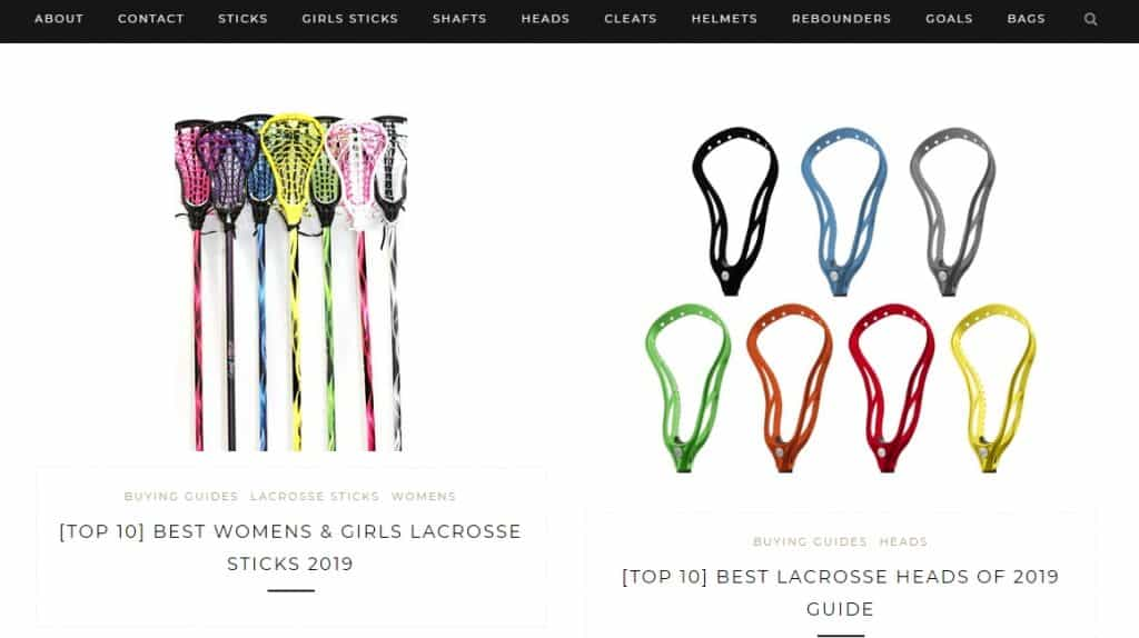 LacrosseScoop Website