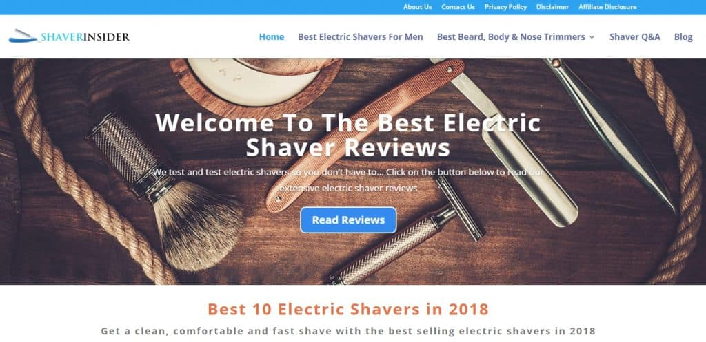 Shaver Insiders Website
